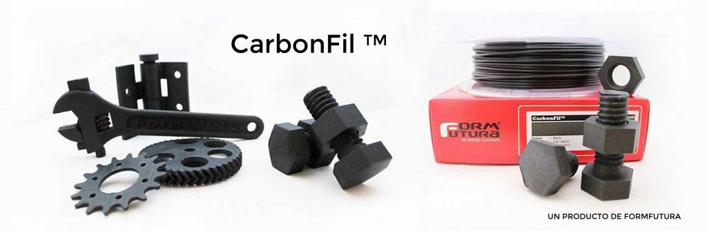 PETG + Fibra de carbono - CarbonFIl